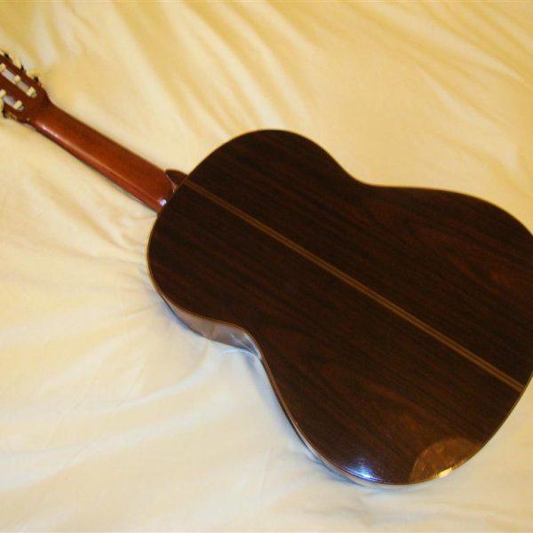 Yamaha CG240 Classical Guitar-back